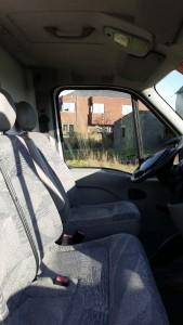 bestuurderscabine camionette Pionears